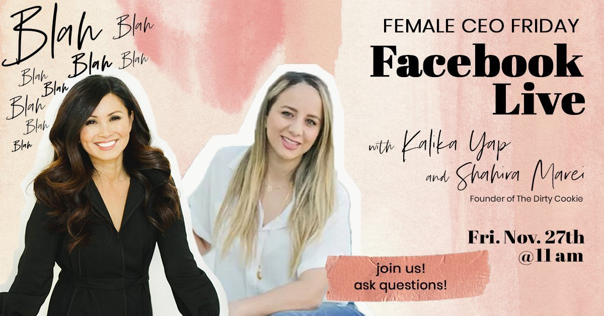 Female CEO Friday with Shahira Marei event's featured image for kalika.com