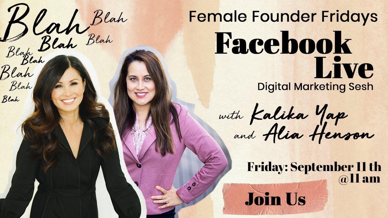 Female Founder Fridays with Alia Henson featured image for kalika.com