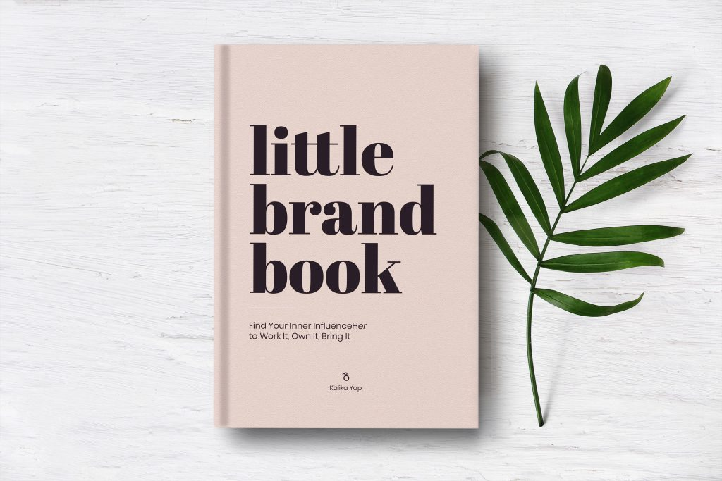 Little brand book social image for Keep inspired in this time of crisis. blog post