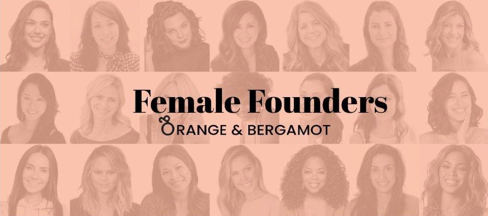 Orange and Bergamot Female Founders for kalika.com