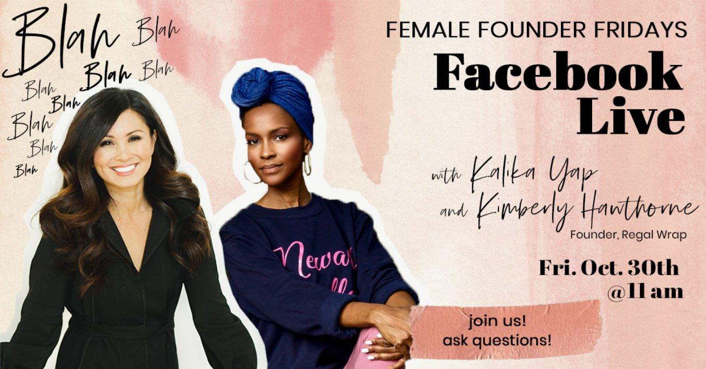 Female Founder Fridays with Kimberly Hawthorne featured image for kalika.com