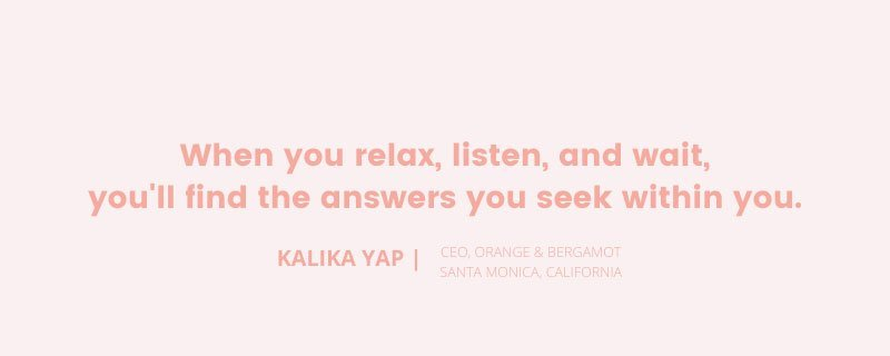 Kalika Yap image quote for The Jewel of Silence
