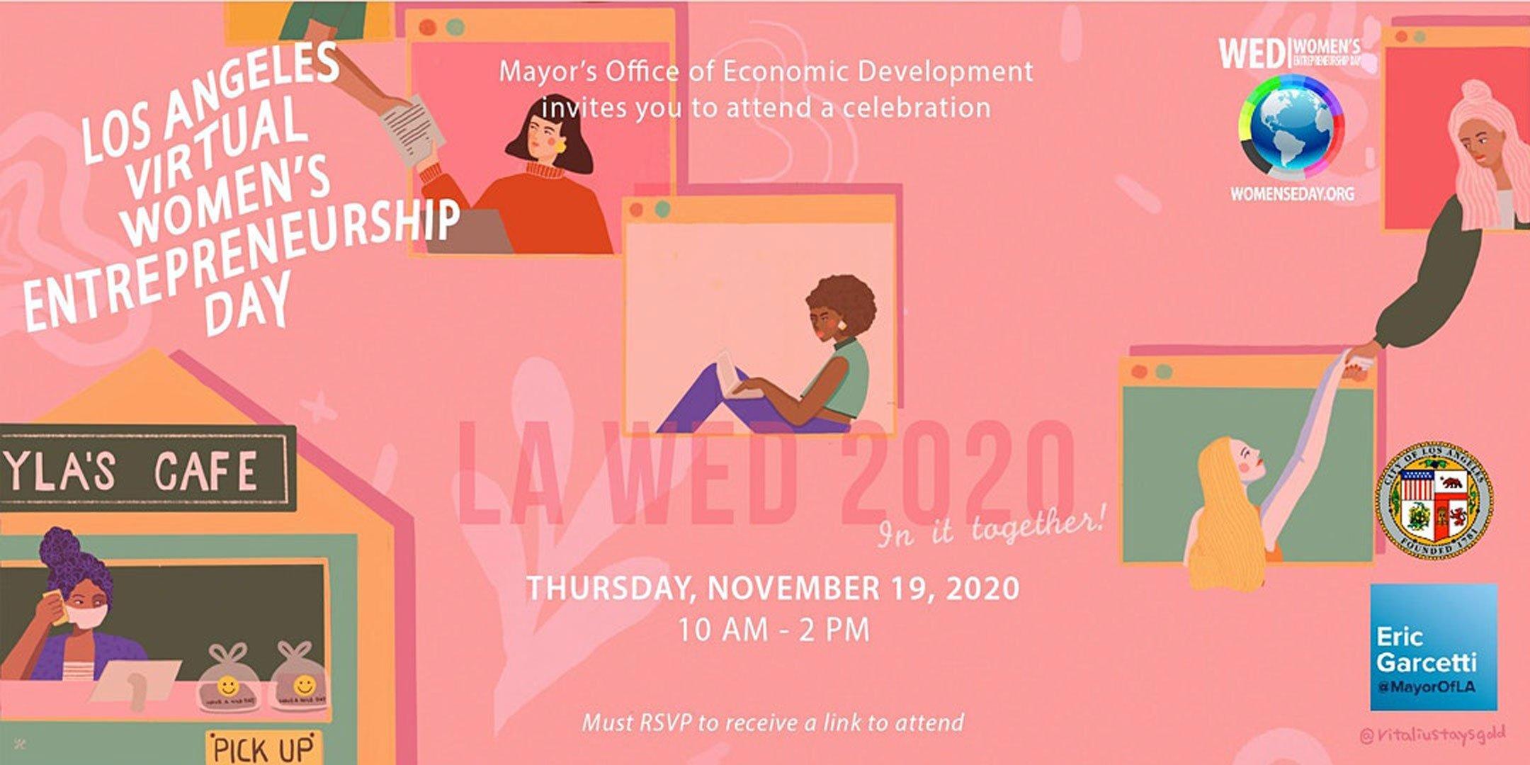 LA Virtual Women 11/19/20 event's featured image for kalika.com