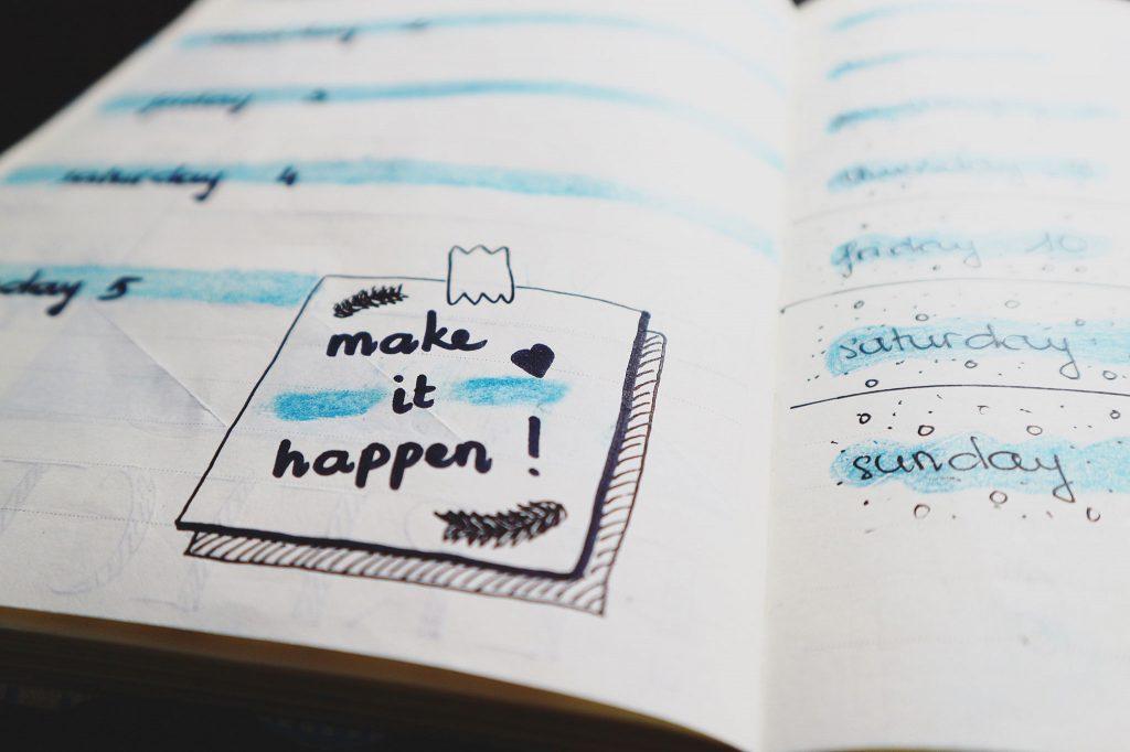Make it Happen illustration for kalika.com
