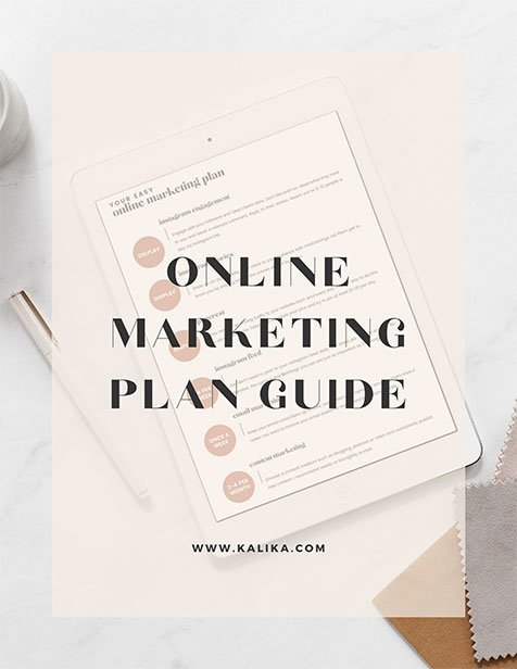 Online Marketing Plan Guide