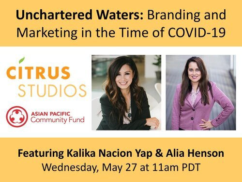 Unchartered Waters: branding and marketing event