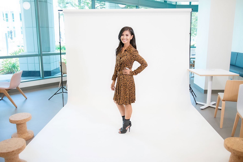 A fun photoshoot with Kalika Yap