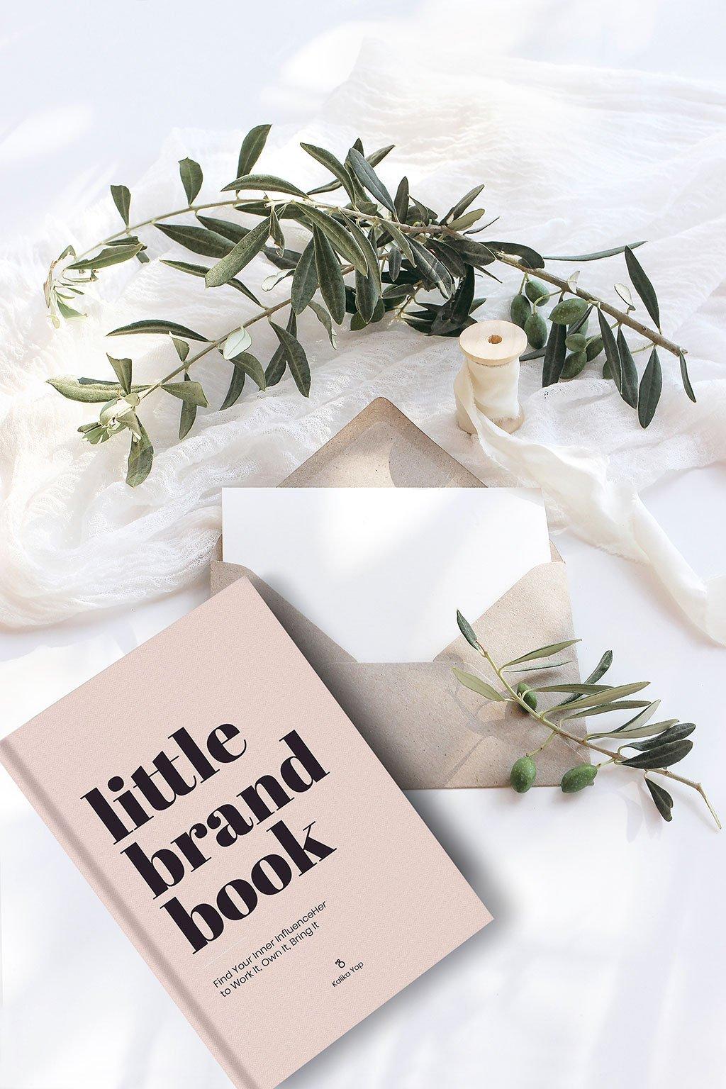 Little brand book has been featured on Kalika Yap blog