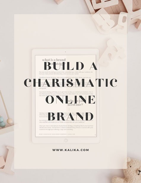 Build a charismatic online brand by kalika yap