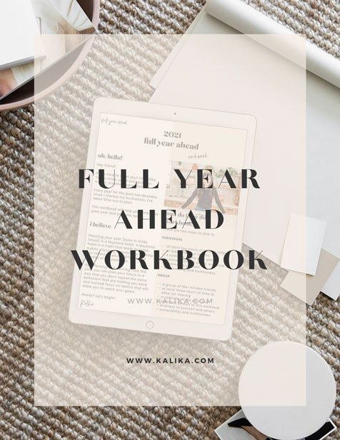 Full Year Ahead Workbook by kalika yap for online marketing file