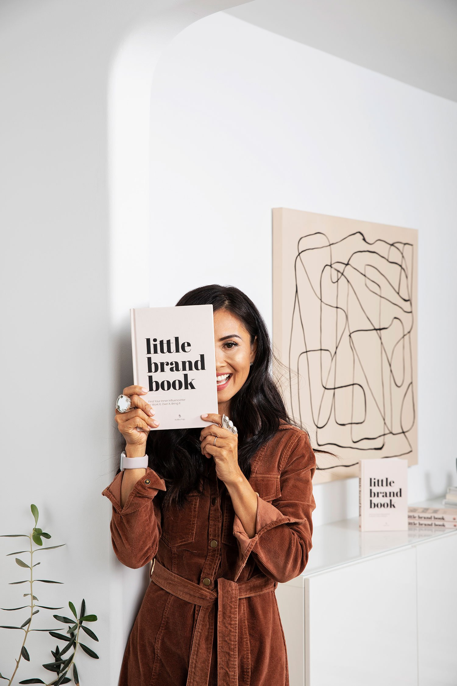 Learn branding techniques with little brand book - Kalika Yap